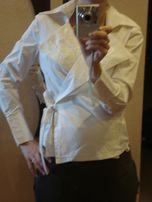 456ff9ba15002b r.S 36 koszula TABOO biała koszula ciążowa biała bluzka ciążowa