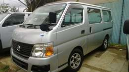 2009 Nissan Caravan petrol automatic KCJ with alloy rims