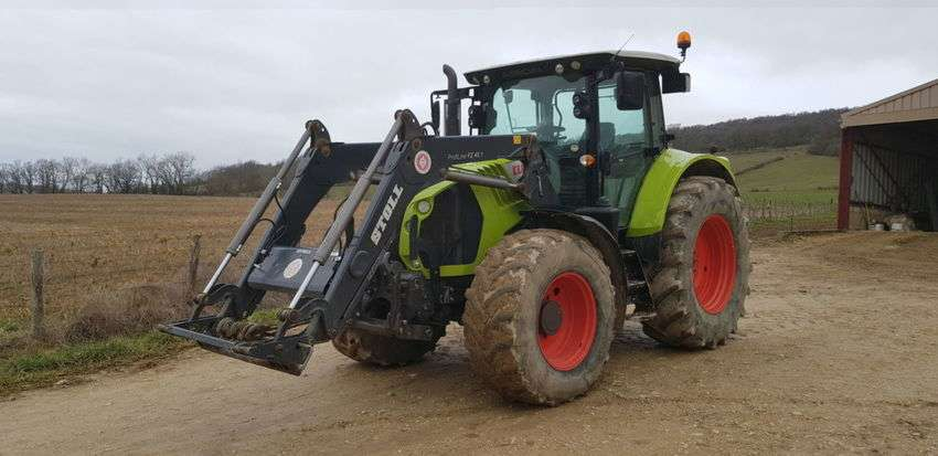 Claas arion 540 cis - 2014 - image 2
