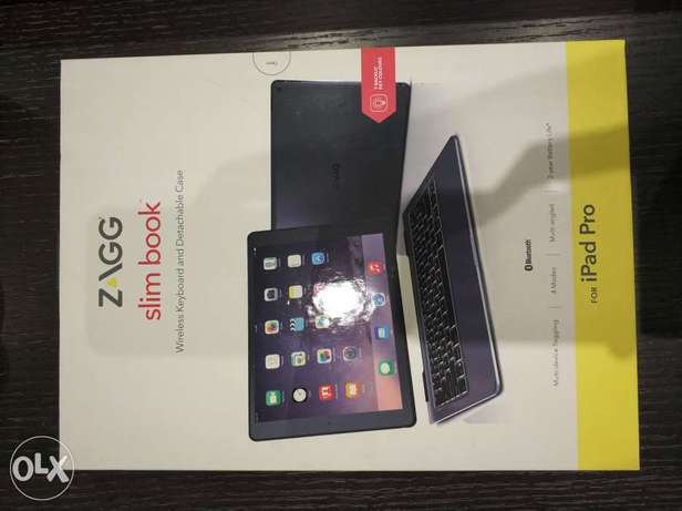 Zagg Slim Book wireless keyboard and detachable case for iPad pro 12.9