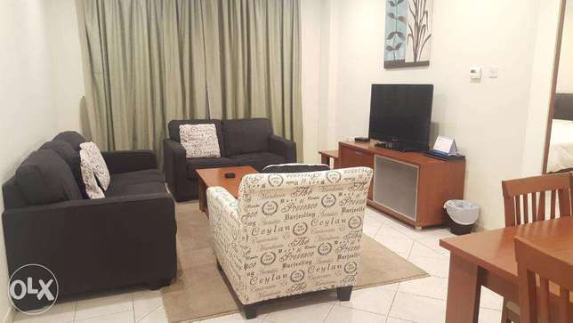 Manqaf - Fully Furnished 1, 2 & 3 BR with Balcony / Rent 300 up to 550 المنقف -  2