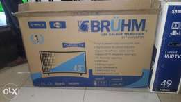 "BRUHM 43"" curved smart tv"