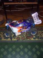 Rc car and helicopter