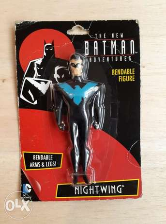 Night Wing Bendable Figure.
