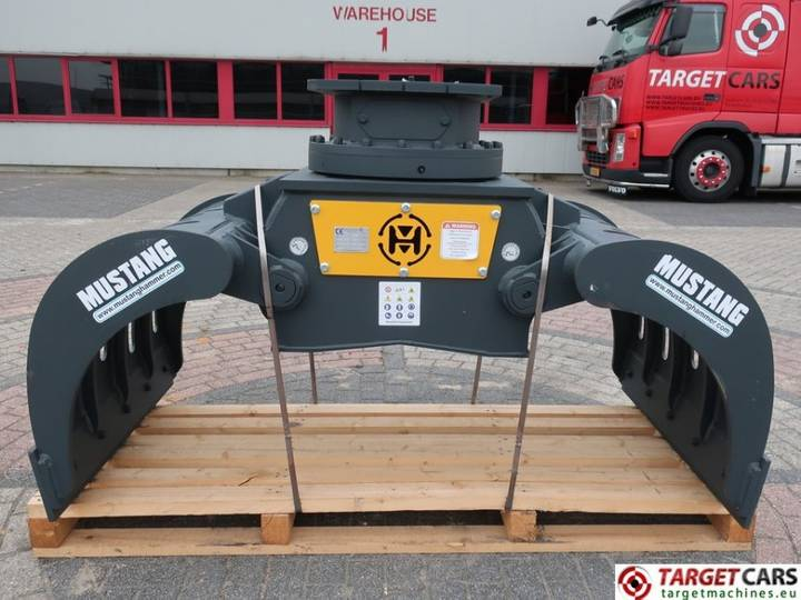 Mustang Hammer GRP1500 Hydr.Rot Sorting Grapple 19~23T NEW