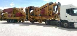 Crushers and Screens Plant Equipment For Sale