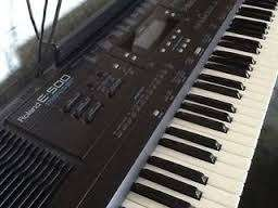 Roland E 500 out for grabs
