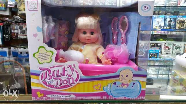 baby doll for toilet type