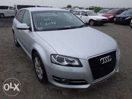 Brand new Audi on sale.