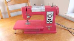 VINTAGE, RETRO,& Very Rare PINK Brother DELUXE Electro Free Arm Sewing