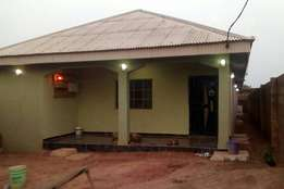 Well furnished 4bedroom bungalow with shop in front at Ogijo via ikrd
