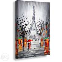 Floral 1 Piece Painting Canvas Print (Reference: cp101)