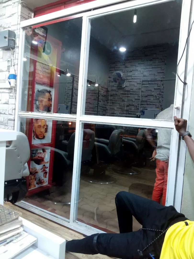 Sliding Glass Door For Your Business To Help With Prevent Dust Rain