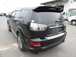 Mitsubishi outlander 2010model black sports edition