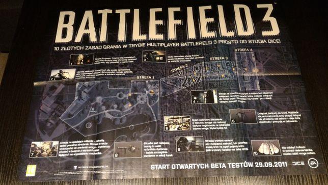 Plakaty Z Gier Wiedźmin Dying Light Battlefield 3