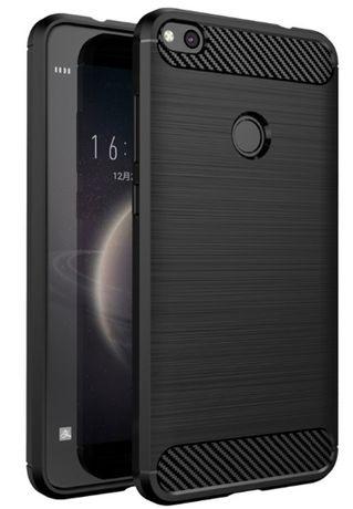 6593f10e63d NOWE etui gumowe Huawei P8 LITE 2017 smartfon pokrowiec czarny case Zamość  - image 1