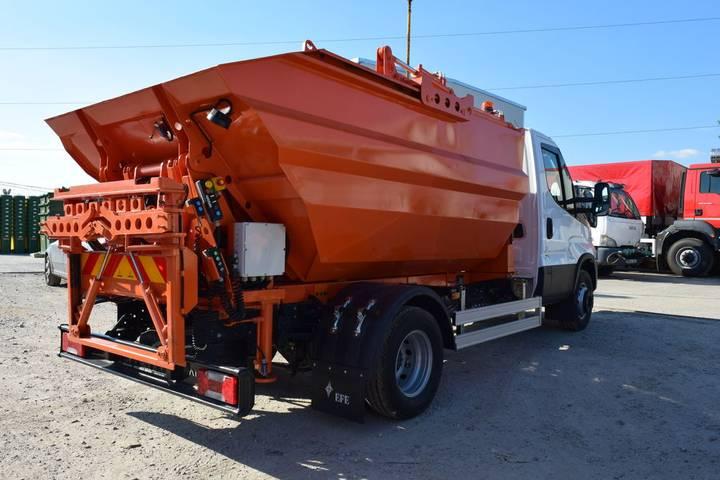 Packer COMPACTOARE Mini  Basculabila garbage truck