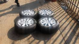 Vw Polo Mag Rims with fire stone tyres for sale Vw Polo Mag Rims w