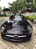 2012 sls amg benz at abuja