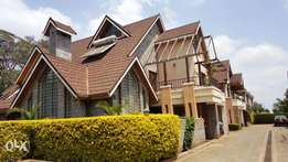 Lavington Kabasiran Furnished 5 bed Townhouse to let