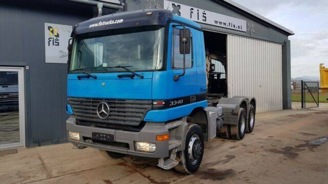 Mercedes-Benz ACTROS 3340 AS 6X6 tractor unit - SPRING - 1999