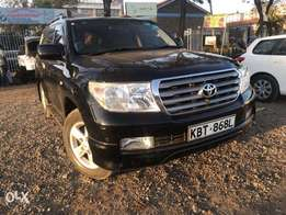 2008 Toyota Landcruiser V8 slightly used Leather Fully loaded