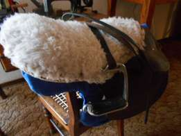Saddle suitable for pony or miniature horse