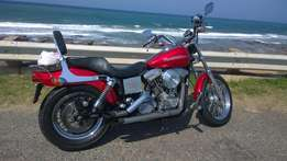Classic Harley Dyna for sale or swop
