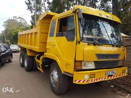 FAW Tipper truck 21Tonne,suspension seats asking ksh.1,400,000