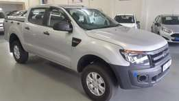 2015 Ford Ranger 2.2 XL double cab 4x2 with 25 000km