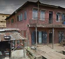 delapilated property for sale at Adesina street Fadeyi lagos state
