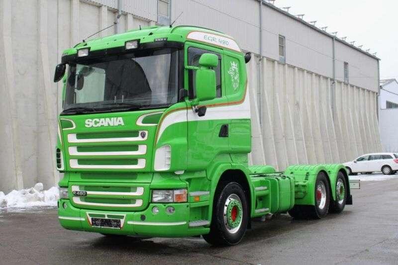 Scania R480 6x2 Euro5 Adr Fl At Exii Iii Pto - 2009