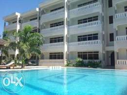 Fully Furnished 1 BR Apartment Behind The Famous Serena Beach Resort.