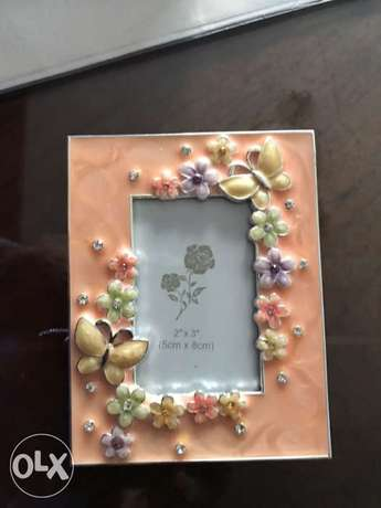 photo frames silver plated two