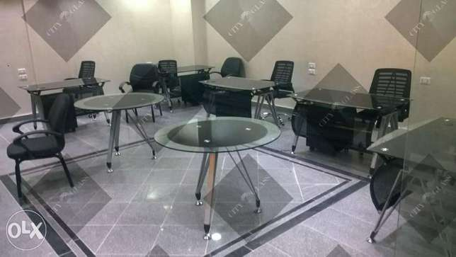 City Glass office furniture