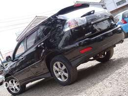 Toyota Harrier 2010 model full leather interior black colour
