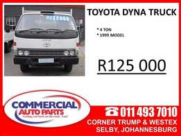 Toyota Dyna 4 Ton Truck for Sale