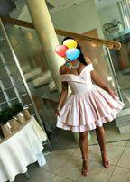 cb915bb5b6eb Sukienka LOU MEGAN Elegancka Wieczorowa Różowa Princess Sylwester