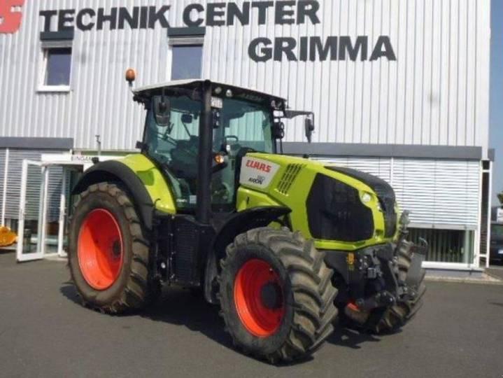 Claas traktor axion 810 cmatic - 2017