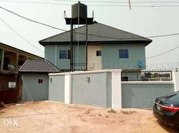 Brand new 6 flat of 2 bedroom Off Airport rd. Oni GRA. On a 75x100. 0