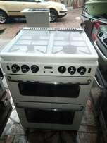 UK used four burners cooker with double oven gas