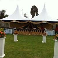 we have high quality tents,chairs,tables and decor