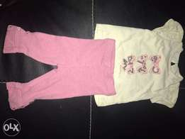 top and leggings for baby girls