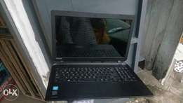 Neat flat Toshiba laptop with 4gb ram and 500gb hdd