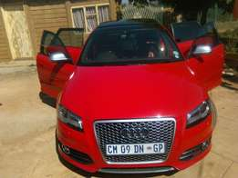 Audi S3 2009 Mode,l RS3 Grill, Downpipe, Low kilos Engine installed