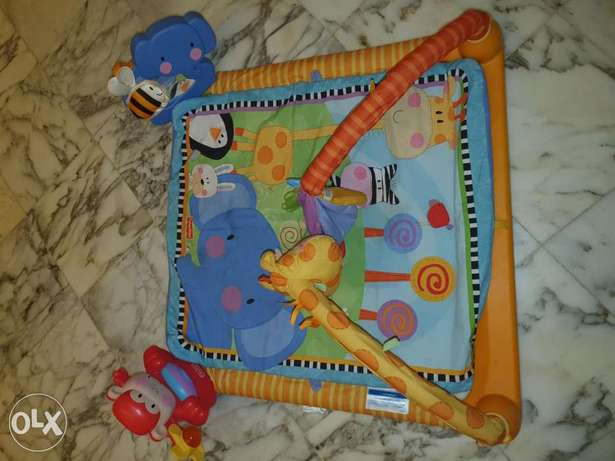 """Tapis for Babies with music and light """"Fisher-Price"""" حدت ..."""