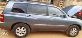 Tokunbo Highlander For Sale