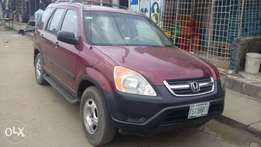 Registered Honda CRV 2005model First paint