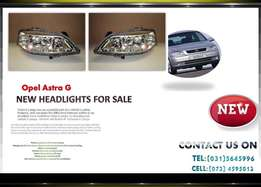 Opel Astra G 1999/04 New Headlights for sale Price:R950 each