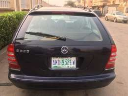4 Months Used Mercedes-Benz C 230 (2003)